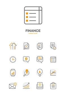 TODAY UPDATE_주식과 금융 아이콘